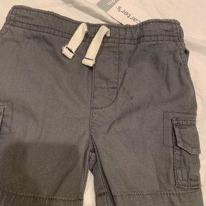 Slate blue cargo shorts NWT